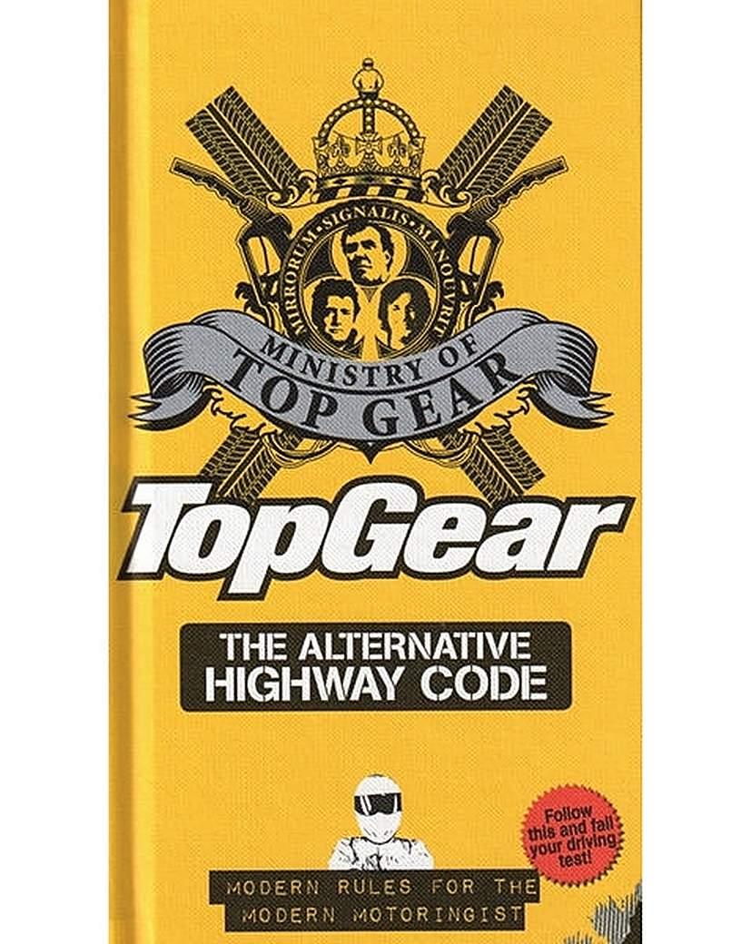 Image of TOP GEAR ALTERNATIVE HIGHWAY CODE - BOOK