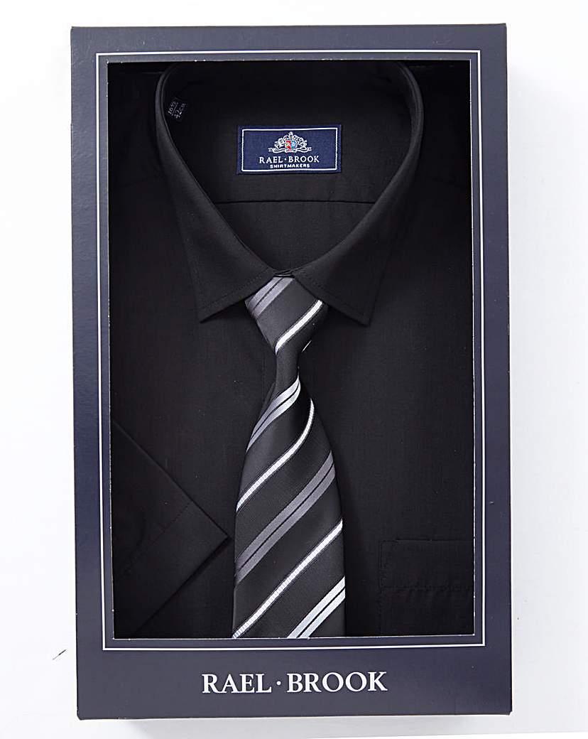 Rael Brook Boxed Shirt And Tie Set