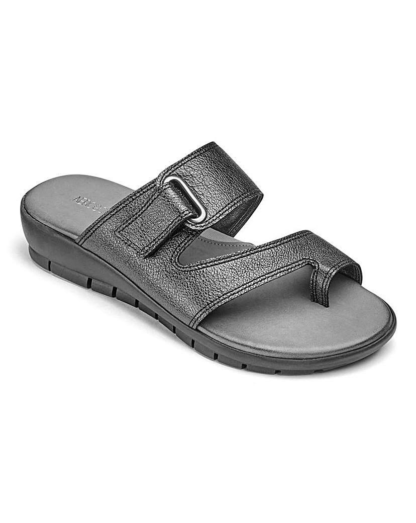 Image of Aerosoles Leather Sandals D Fit