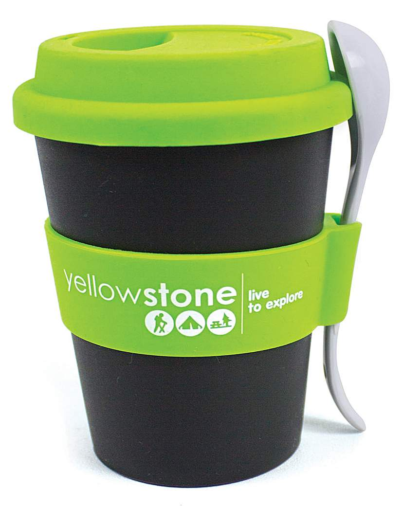 Image of Yellowstone 340 ml Snack Cup Pk2
