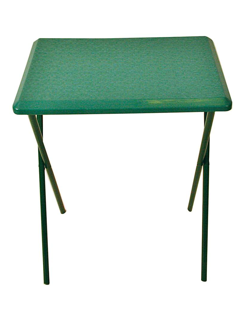 Image of Fleetwood high plastic table in green