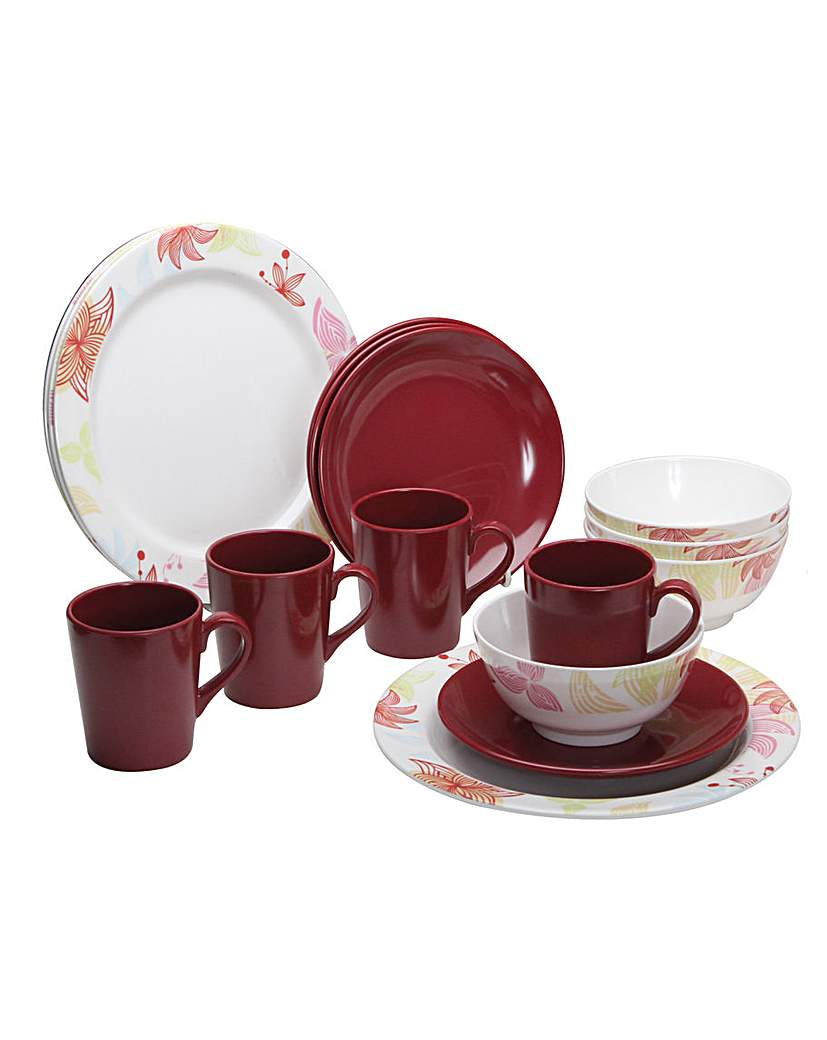 Tahiti 16 Piece Tableware Set
