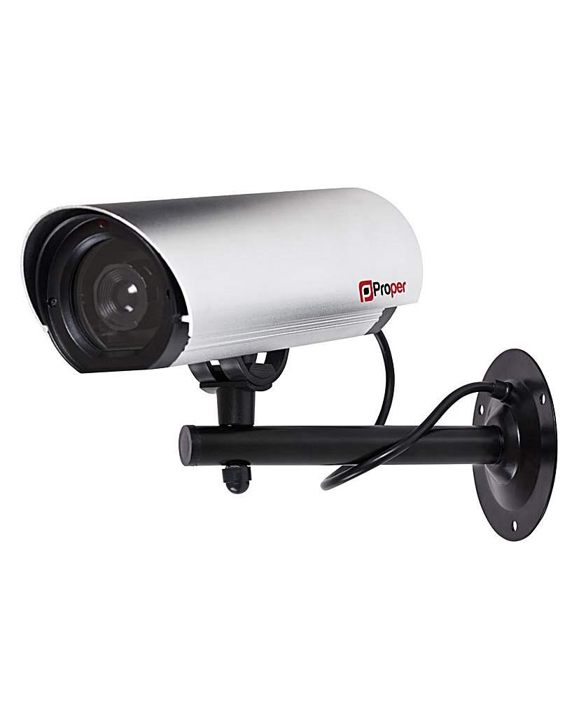 Proper Metal Fake Burglar CCTV Camera