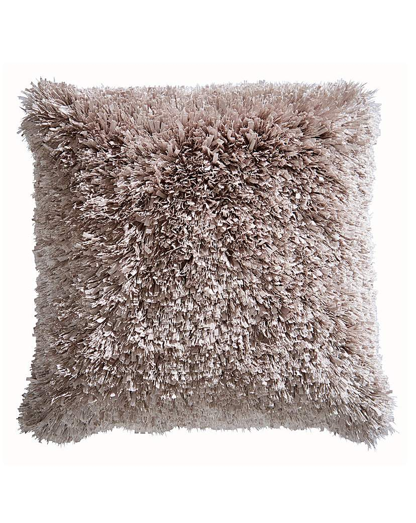 Image of Ribbons Shaggy Cushion
