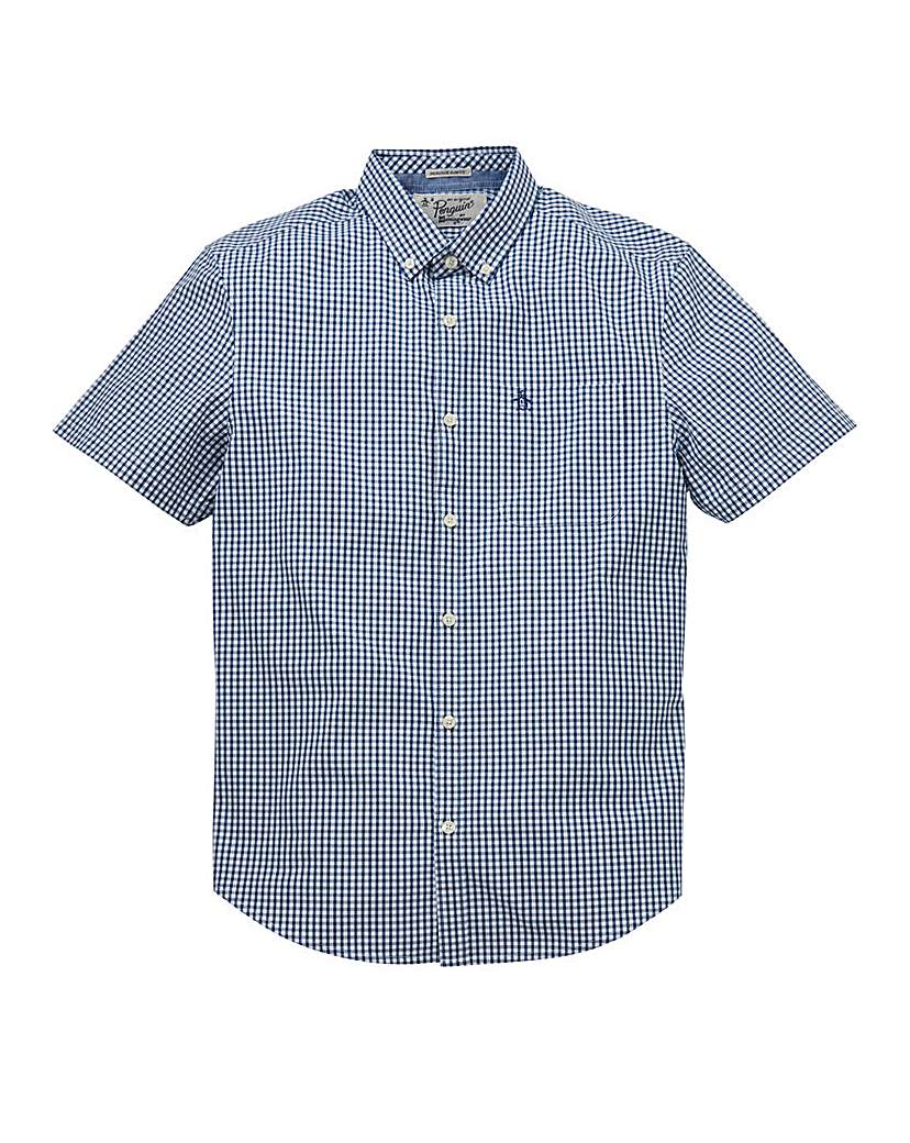 Image of Original Penguin SS Gingham Shirt Reg