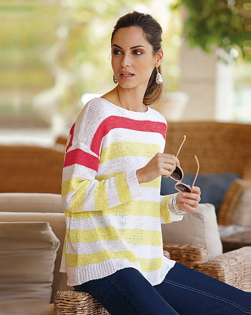 Product photo of Together stripe jumper