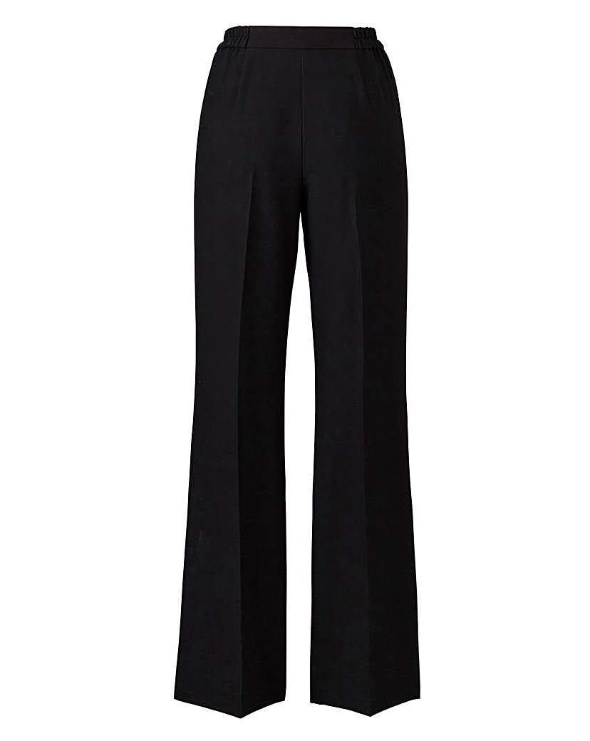 1930s Women's Pants and Beach Pajamas JOANNA HOPE Wide-Leg Trousers £17.00 AT vintagedancer.com