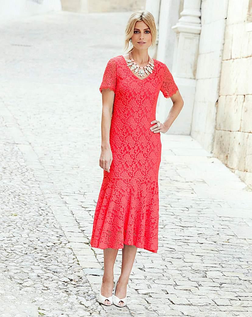 JOANNA HOPE Lace Dress £55.00 AT vintagedancer.com