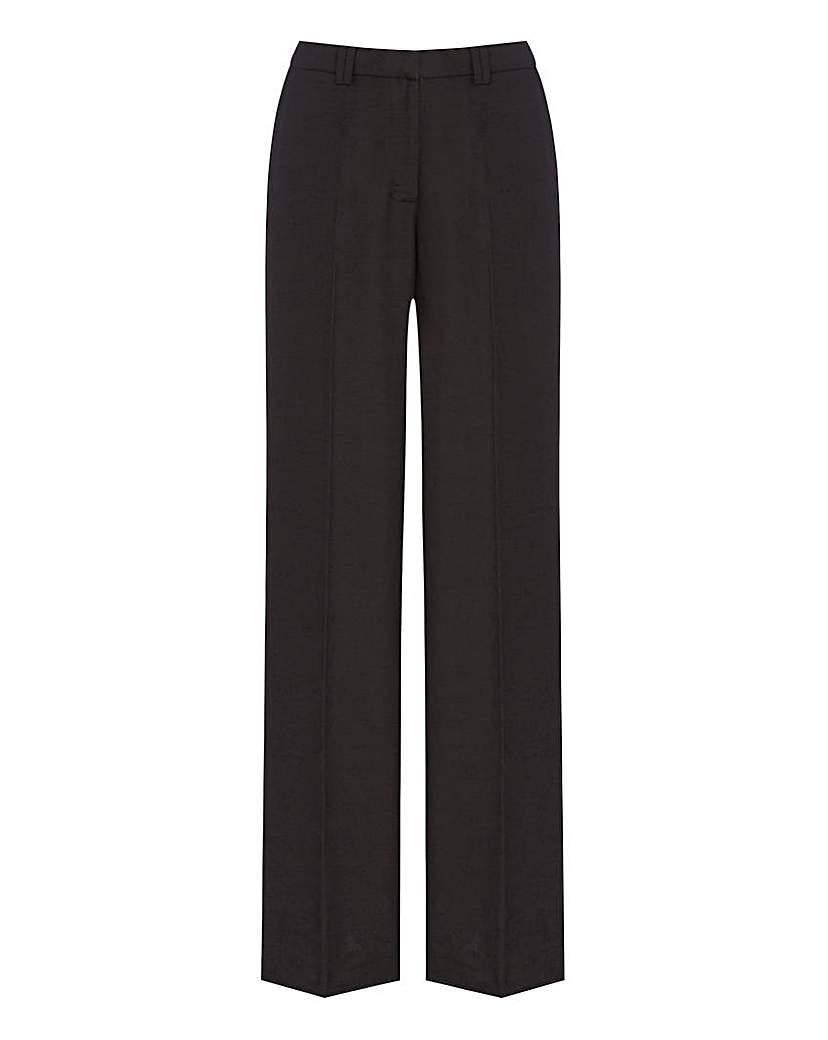 JOANNA HOPE Linen-Blend Trousers 31in
