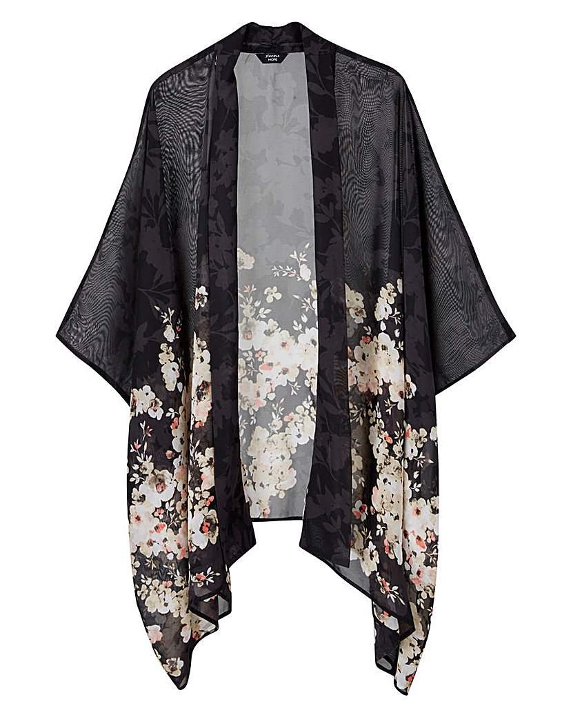 1920s Style Wraps JOANNA HOPE Print Kimono £39.00 AT vintagedancer.com