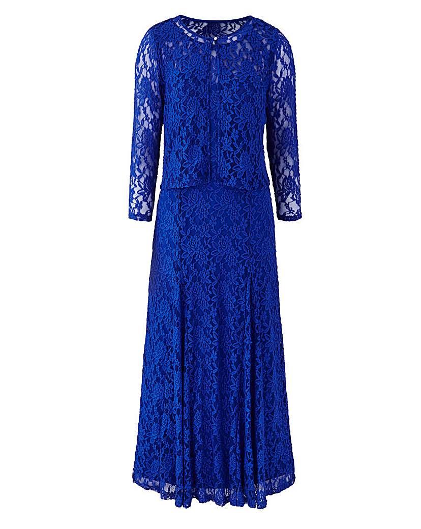 JOANNA HOPE Lace Maxi Dress and Bolero