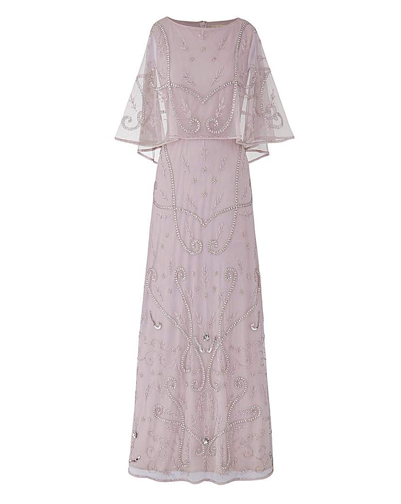 JOANNA HOPE Embellished Maxi Dress £180.00 AT vintagedancer.com