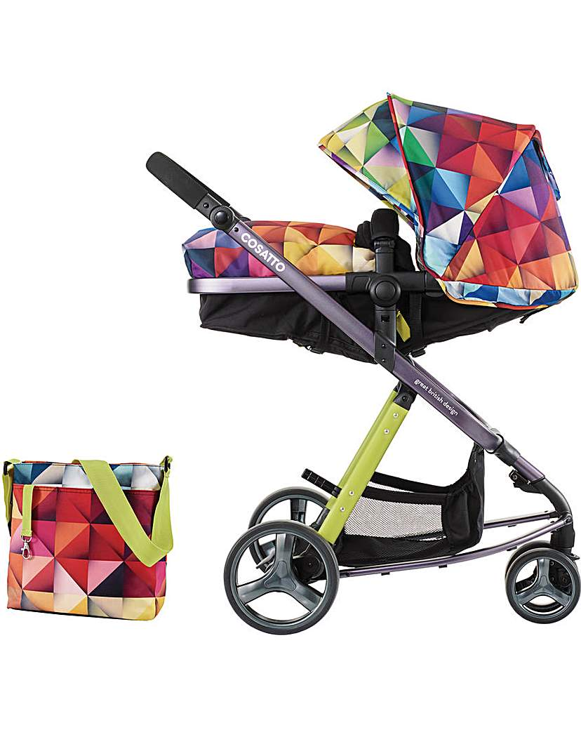 Image of Cosatto Woop Travel System - Spectrolux