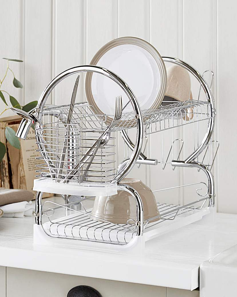 Image of 2-Tier Dishdrainer Stainless Steel