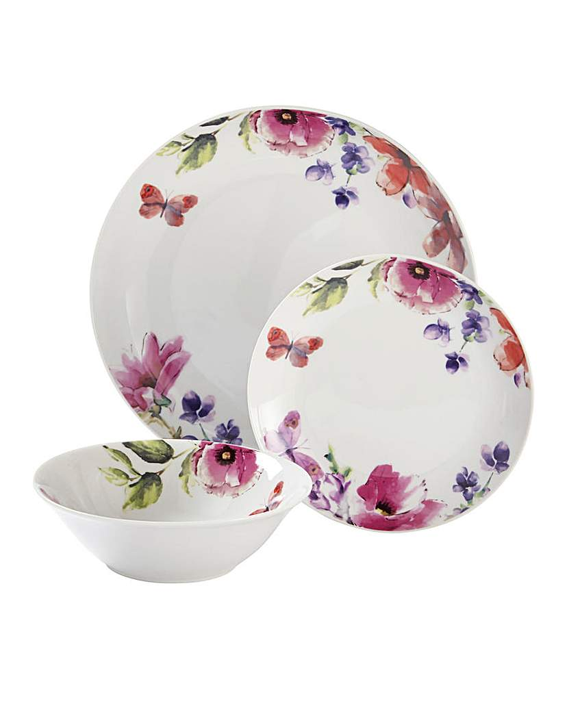 Botanical 12Piece Dinner Set