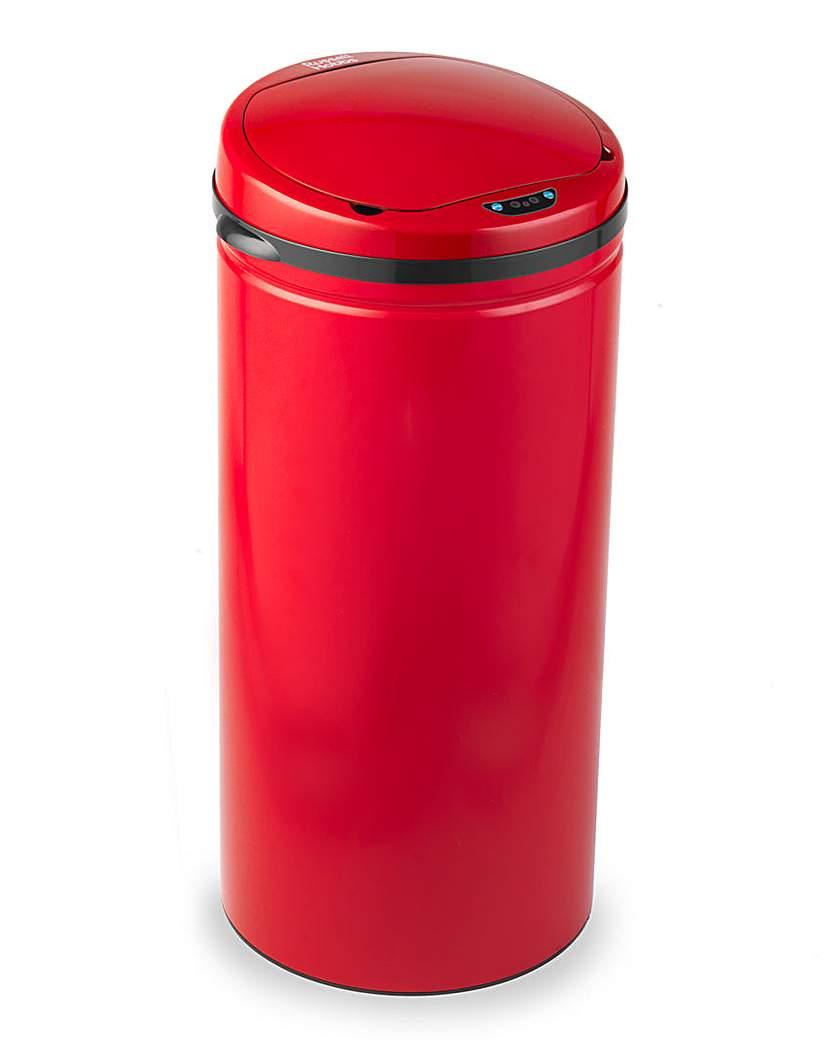 Russell Hobbs Round 30L Sensor Bin Red
