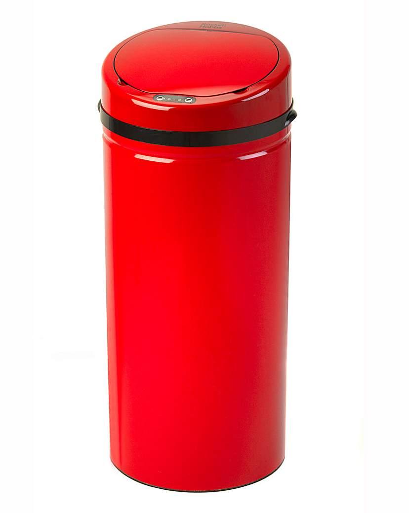 Russell Hobbs Round 50L Sensor Bin Red