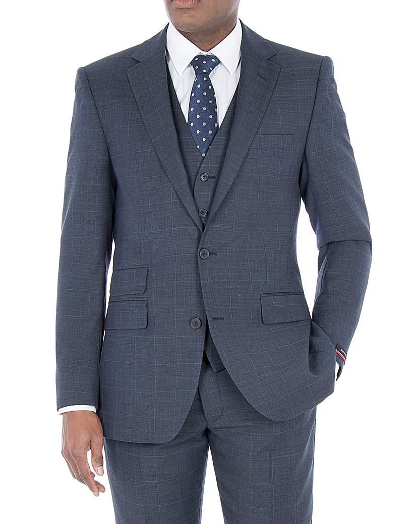 Pierre Cardin Blue Check Jacket