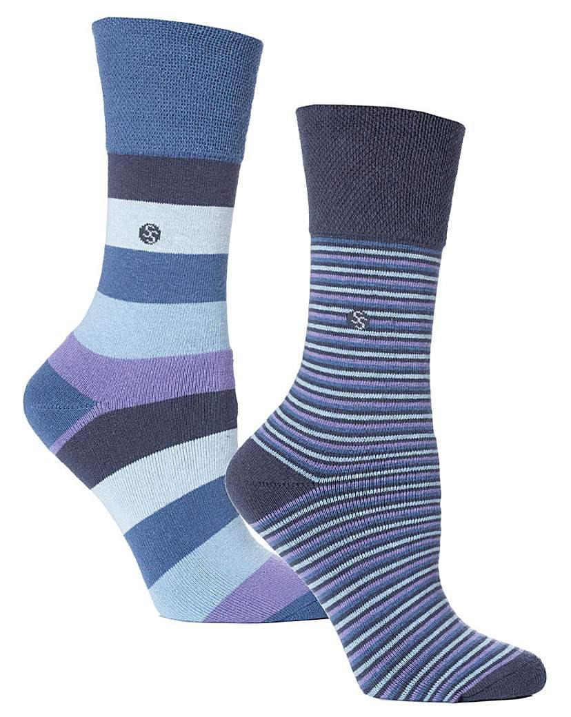 Cushion Foot Gentle Grip Socks