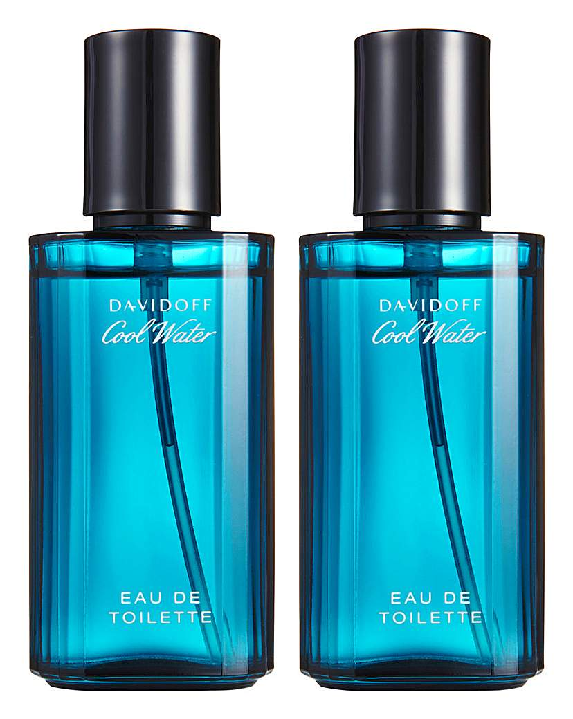 Image of Cool Water 40ml EDT BOGOF