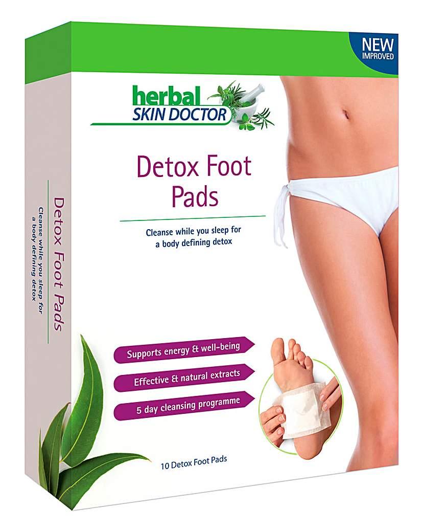 Herbal Skin Doctor Detox Foot Pads - 10.