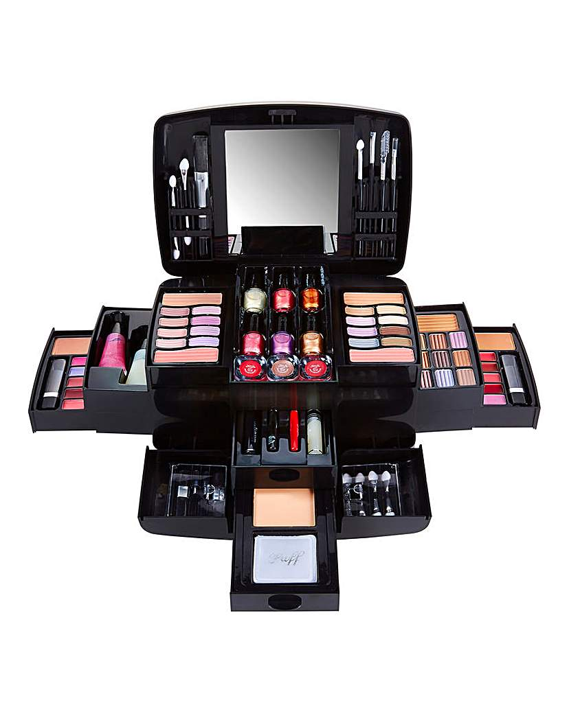 Image of Pretty Pink Deluxe Case and Make-Up Set