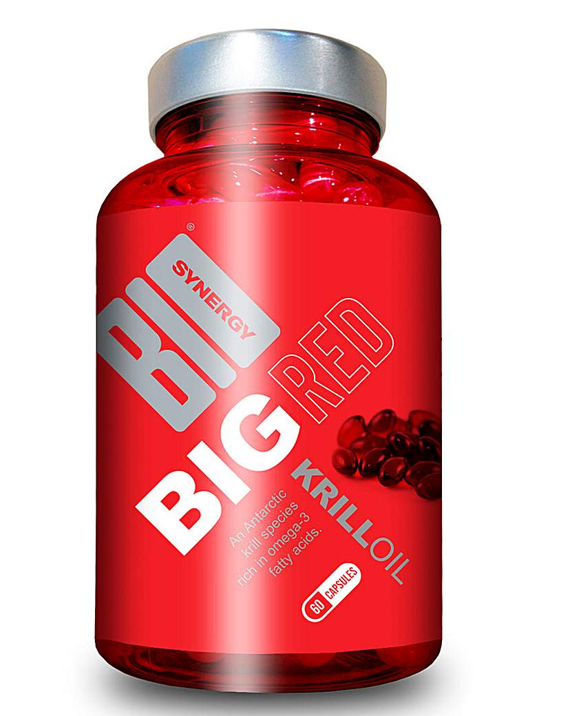 Image of Big Red Krill Oil 60 Capsules