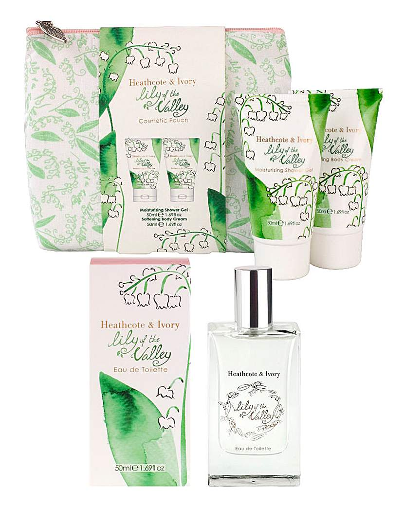 Product photo of Lily of the valley fragrance gift set