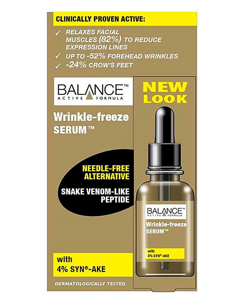 Balance Wrinkle Freeze Serum