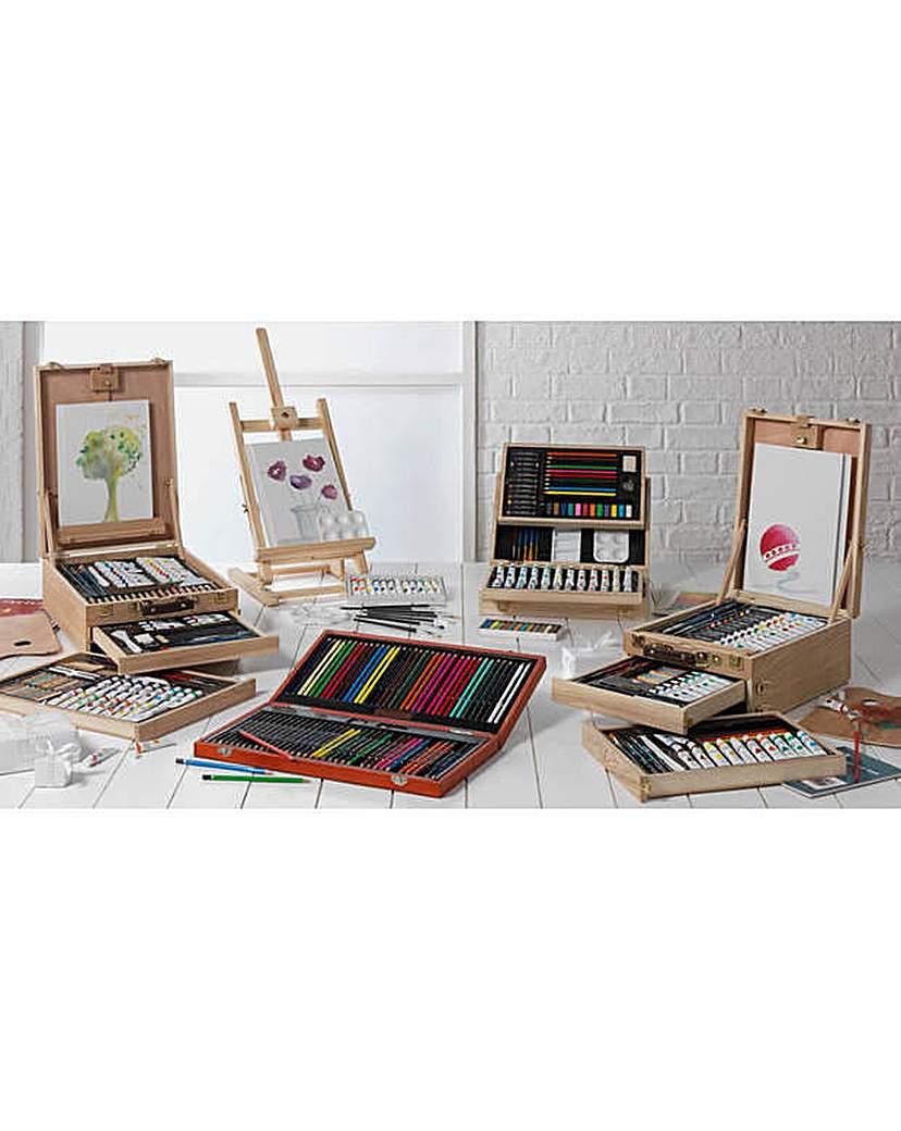 Image of YXSH Acrylic Painting Box and Easel Set