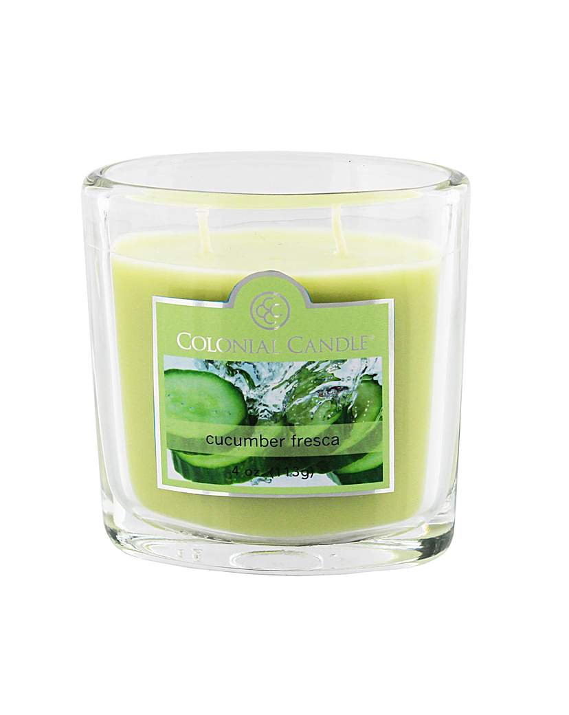 Image of Colonial Candle 4oz Cucumber Fresca