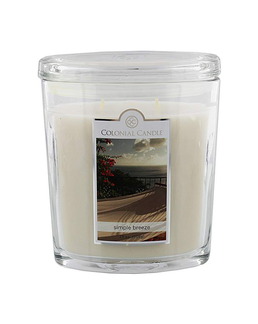 Image of Colonial Candle 25oz Simple Breeze
