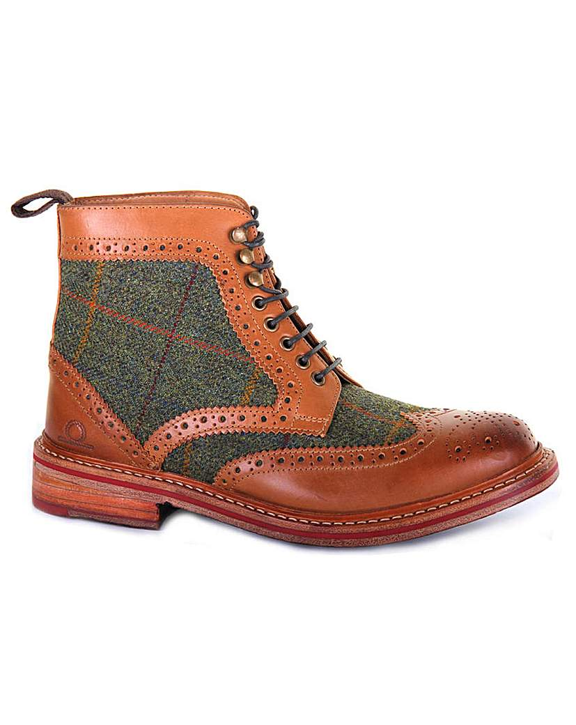 1960s Mens Shoes- Retro, Mod, Vintage Inspired Chatham Stornoway II Tweed Boots £199.00 AT vintagedancer.com