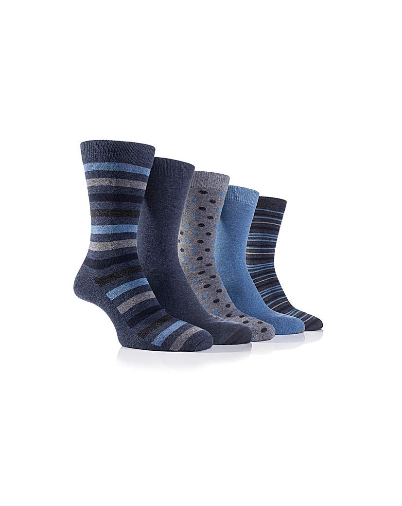 5 Pack Farah Everyday Socks