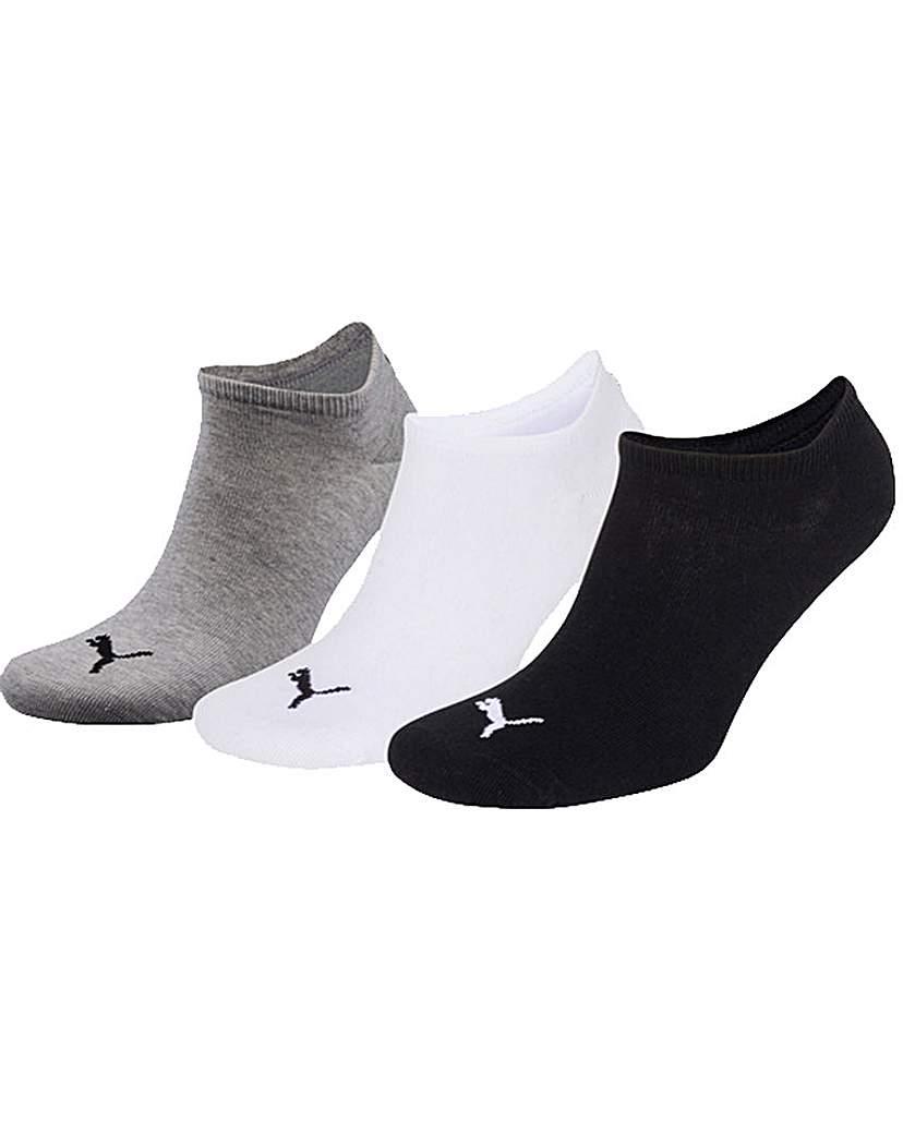 3 Pair Puma Invisible Sneaker Socks