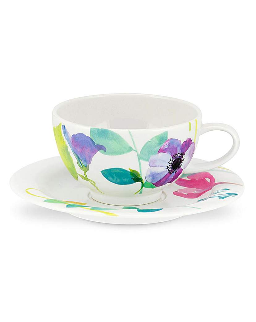 Image of Portmeirion Water Garden St4 Cup & Saucr