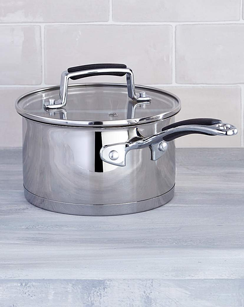 Image of Bistro Stainless Steel 16cm Saucepan