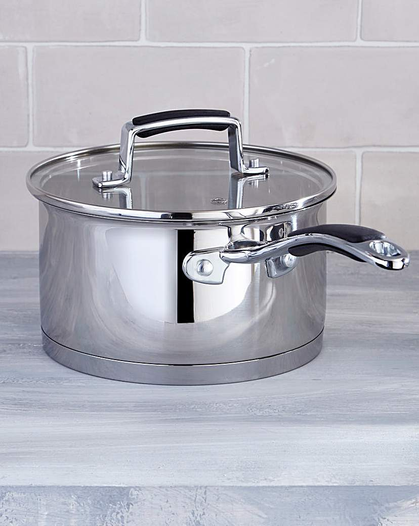 Image of Bistro Stainless Steel 18cm Saucepan