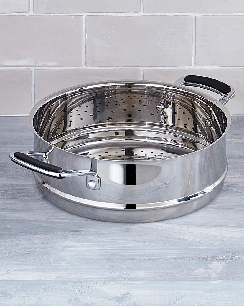 Image of Bistro Stainless Steel 24cm Steamer