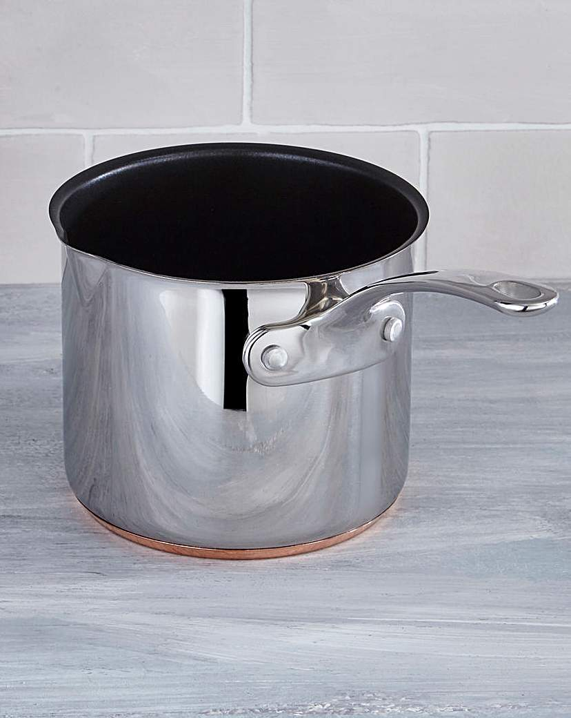 Image of Chef's Collection Copper Bottom Milk Pan