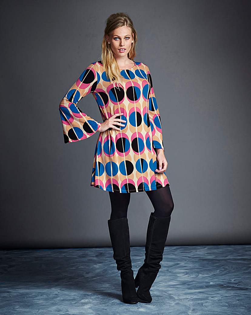 Simply Be Spot Printed Tunic £20.00 AT vintagedancer.com