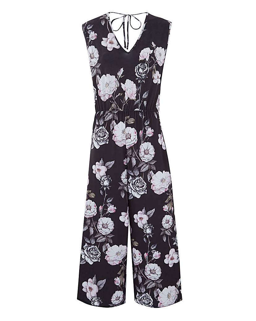 Printed Jumpsuit.
