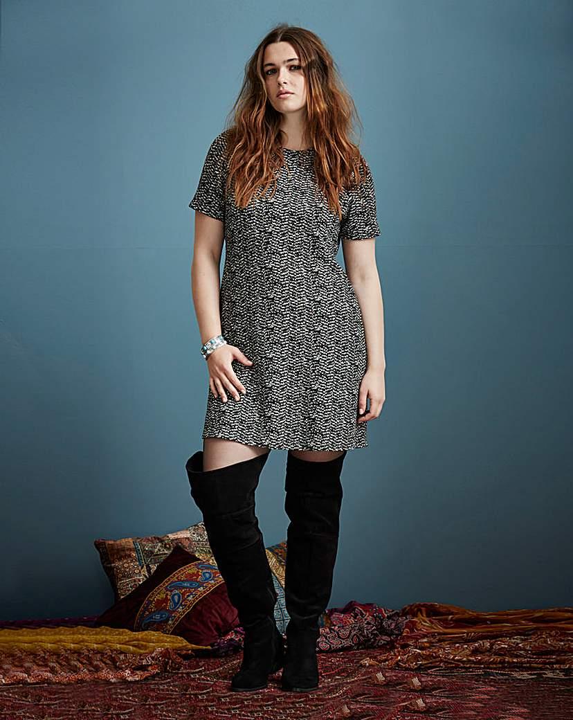 Simply Be Tweedy Knit Dress