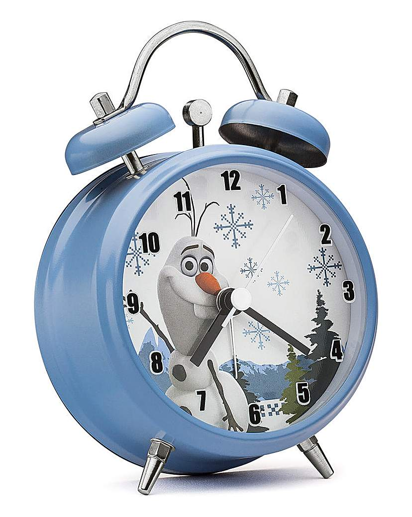 Image of Frozen Olaf Mini Twinbell Alarm Clock