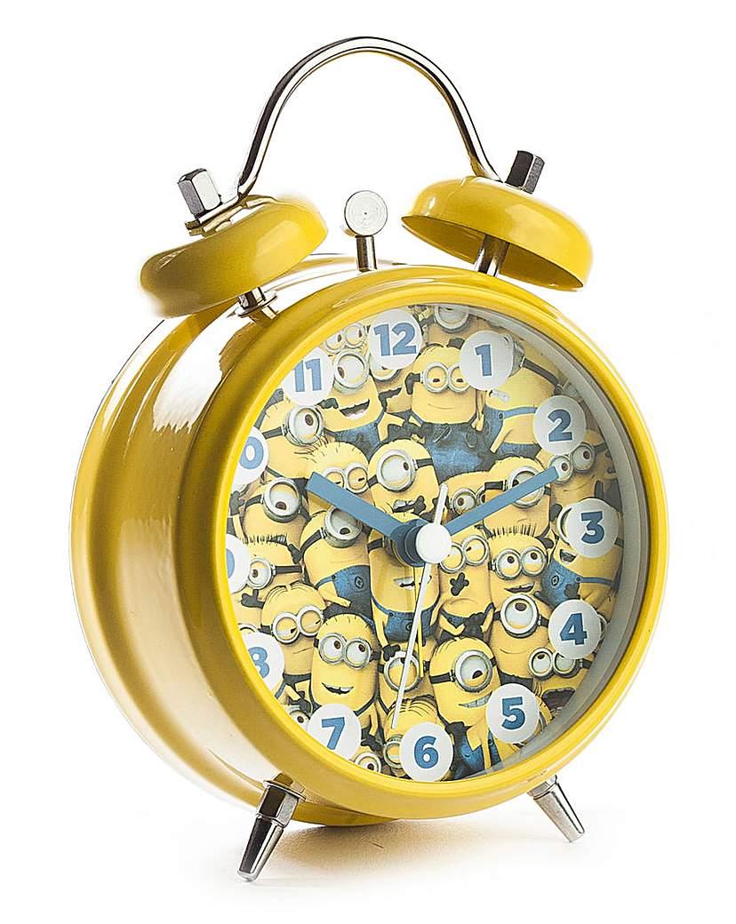 Image of Minions Mini Twinbell Alarm Clock