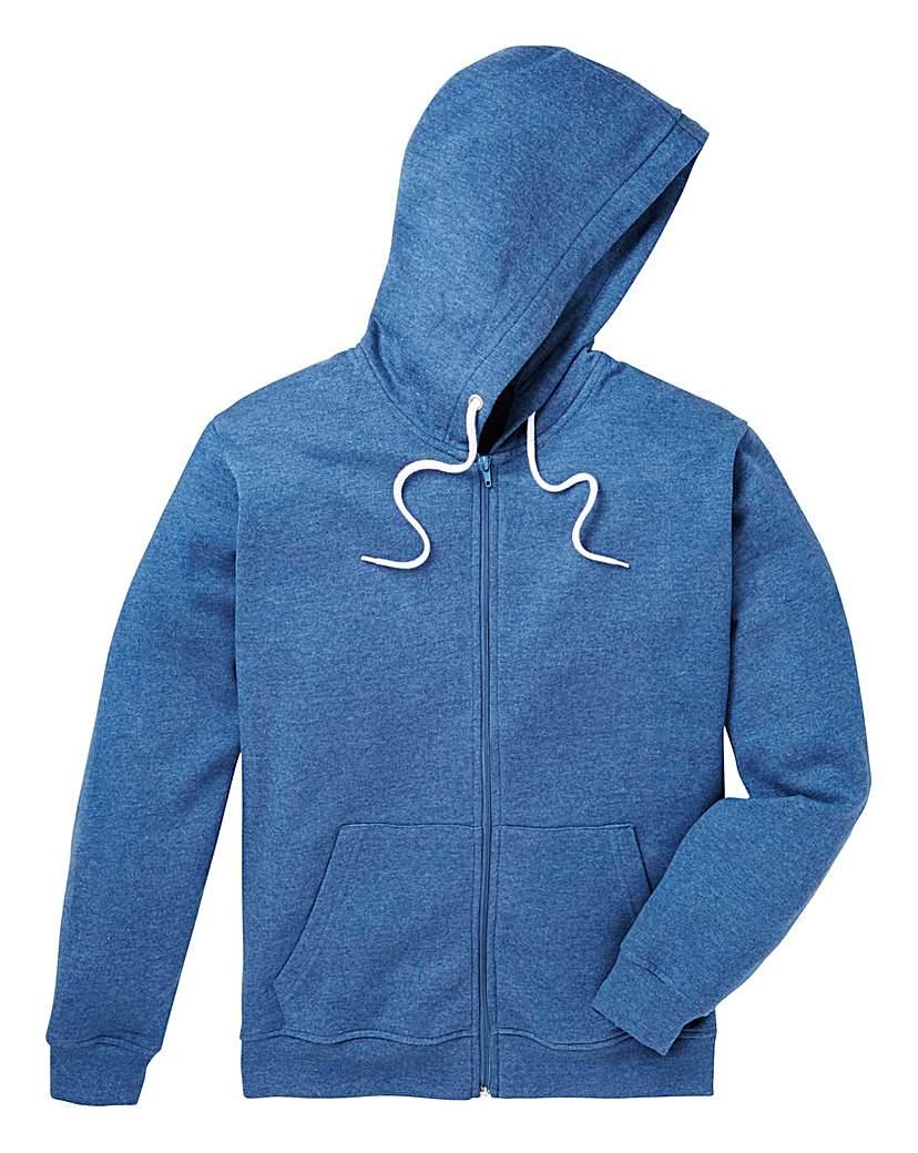 Capsule Full Zip Hood Sweatshirt Long