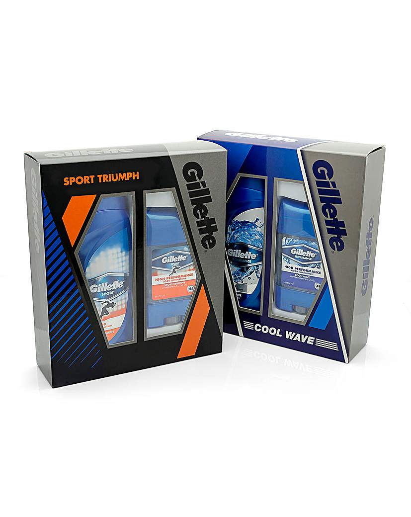 Image of Gillette Sport Triumph and Cool Wave Duo