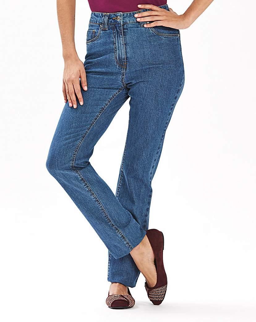 Elle Straight Leg Jeans Length 29in