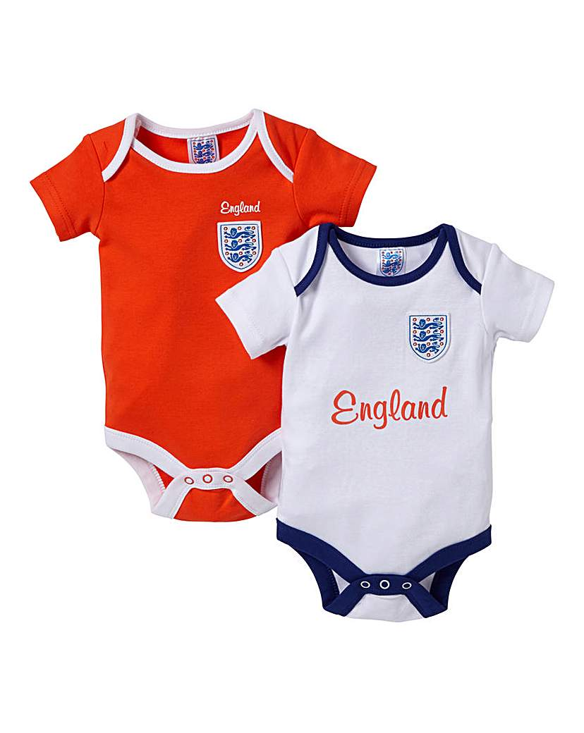 Image of England Kit Pack of 2 Bodysuits