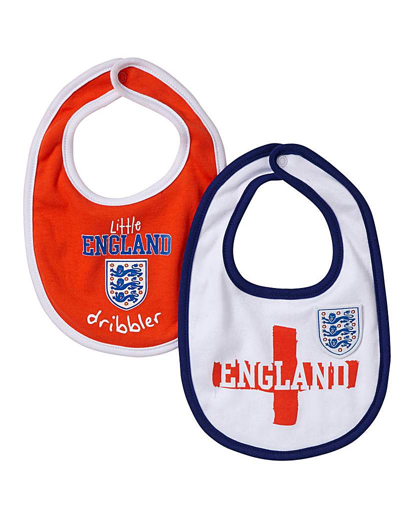 Image of England Kit Pack of 2 Bibs